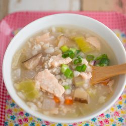 Salmon Rice Porridge Recipe