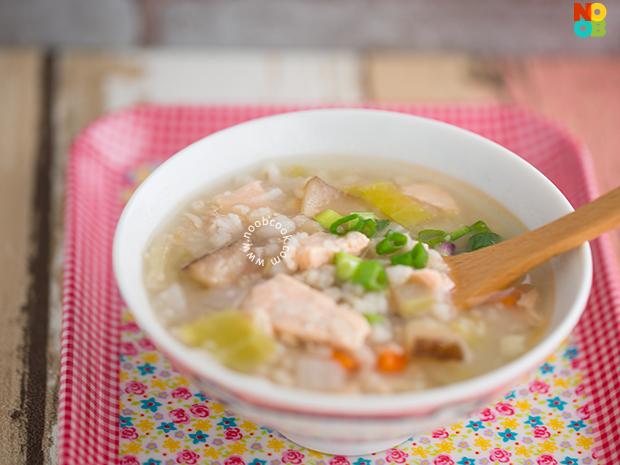 Salmon Rice Porridge Recipe