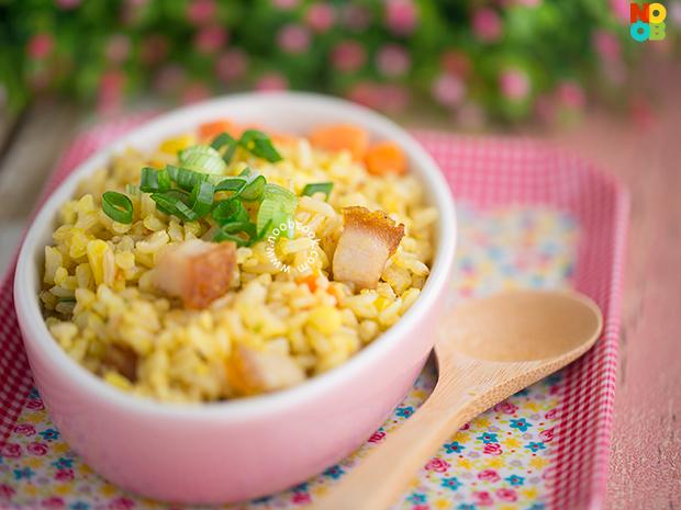 Golden Egg Fried Rice Recipe