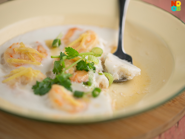 Steamed Prawn with Egg White Recipe
