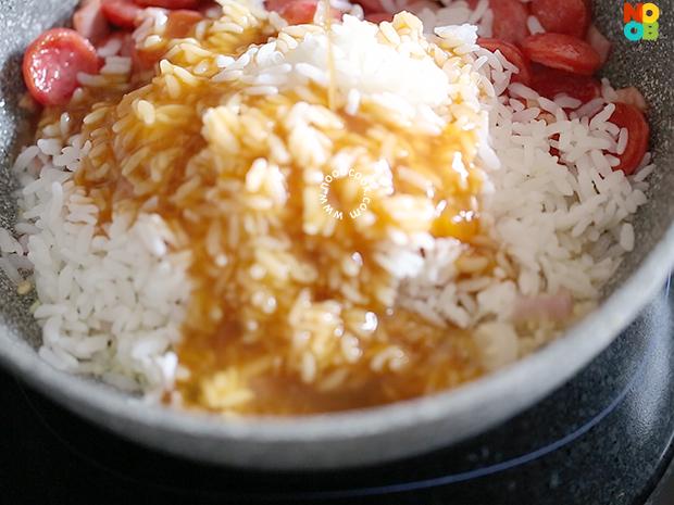 Taiwan Sausage Fried Rice Recipe