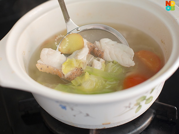 Red Grouper Fish Soup Recipe