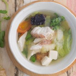 Red Grouper Fish Soup Recipe