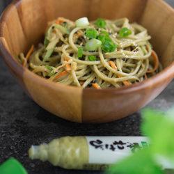 Wasabi Cha Soba Recipe