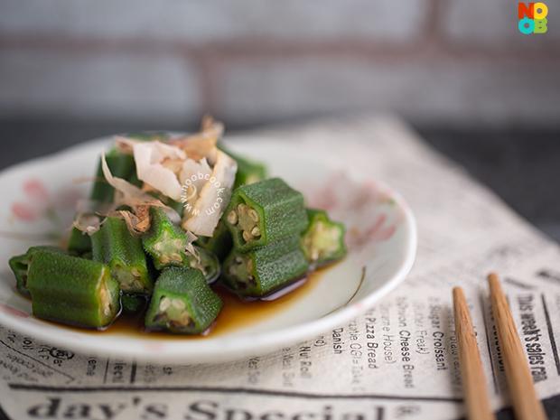 Okra in Ponzu Sauce Recipe