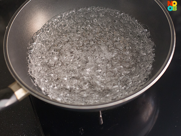 How to steam eggplants