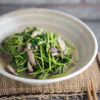 Stir-fry Pea Shoots with Shiitake Mushrooms Recipe