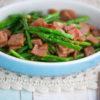 Stir-fry Asparagus & Ham Recipe