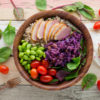Smoked Duck Grain Bowl Salad Recipe