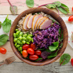 Smoked Duck Grain Bowl Salad Recipe