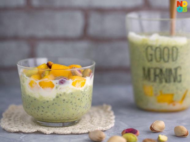 Green Tea Overnight Oats Recipe