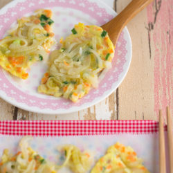 Chinese Onion Omelette Recipe