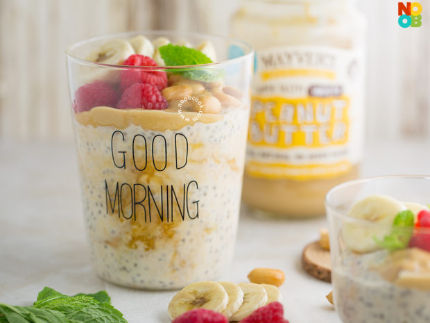 Peanut Butter Overnight Oats Recipe