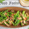 Stir-fry Asparagus Roast Pork Recipe