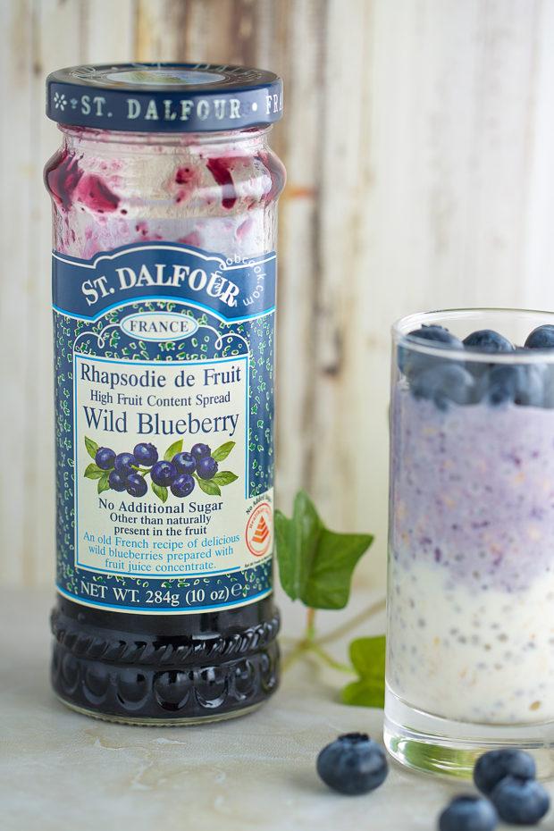 No-Sugar Added Blueberry Jam
