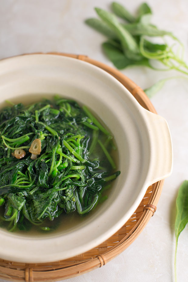 Chinese Baby Spinach Soup Recipe