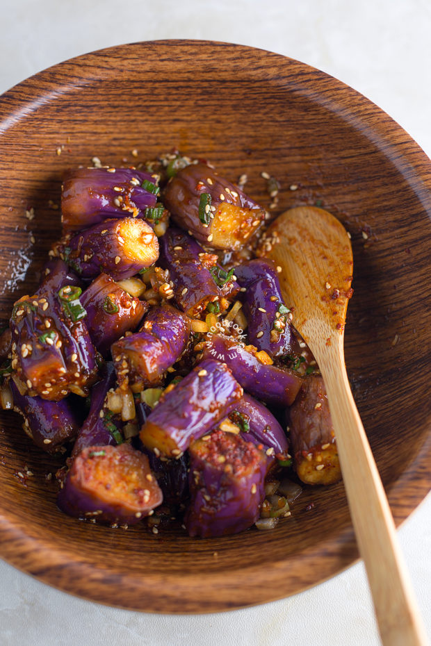 Korean Eggplant Salad Recipe