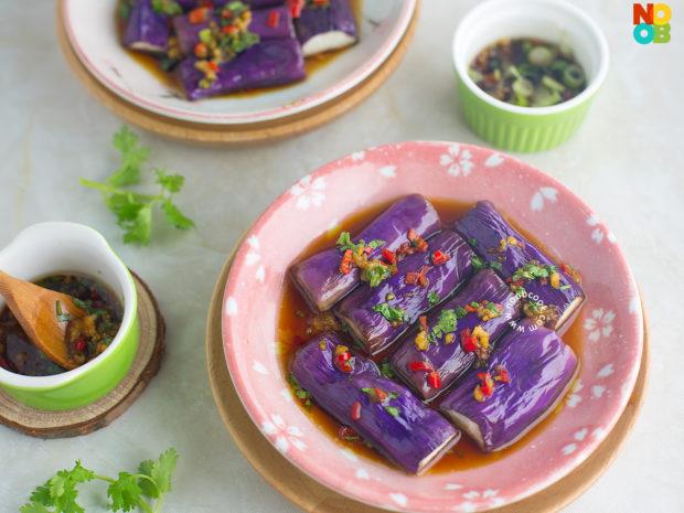 Taiwanese Eggplant Salad Recipe