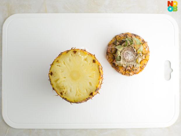 How to make a pineapple mug