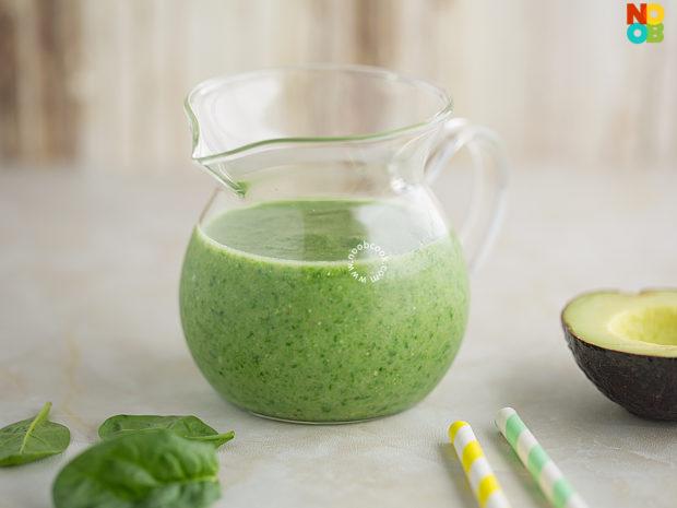 Avocado Spinach Smoothie Recipe