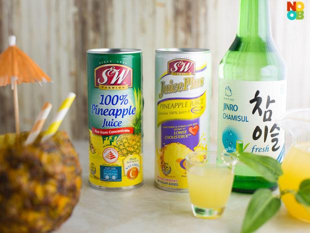 Pineapple Soju Recipe