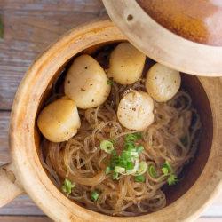 Thai Claypot Scallop Glass Noodles Recipe