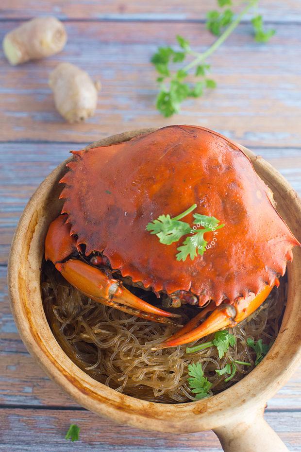 Crab Tang Hoon (Glass Noodles) Recipe