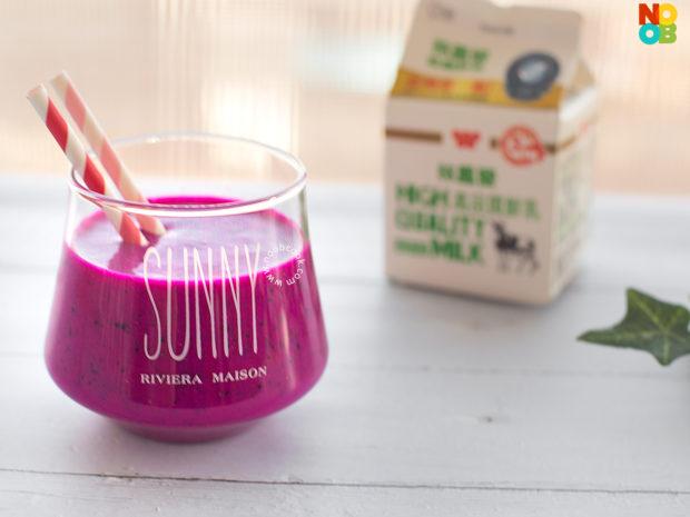 Red Dragonfruit Milk Recipe