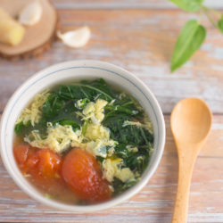 Spinach Egg Drop Soup Recipe