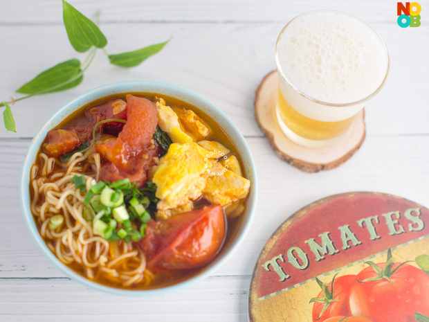 Tomato Egg Noodles Recipe