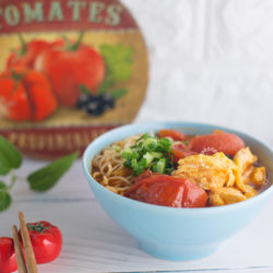 Tomato Egg Noodles Recipe