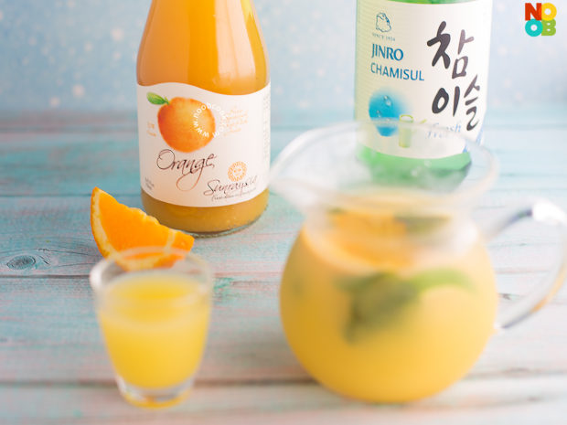 Orange Soju Recipe