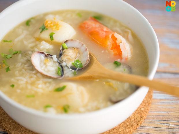 Seafood Porridge Recipe
