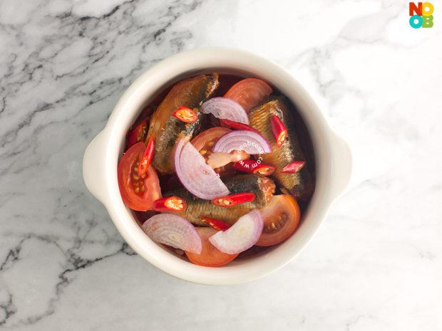 Steamed Sardines in Tomato Sauce Recipe