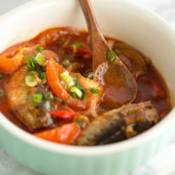 Steamed Sardines in Tomato Sauce Recipe