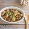 Braised Tofu, Mince & Mushrooms Recipe
