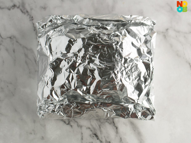 Chicken & Creamy Mushroom Foil Packet Recipe