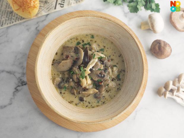 Milky Mushroom Medley Recipe