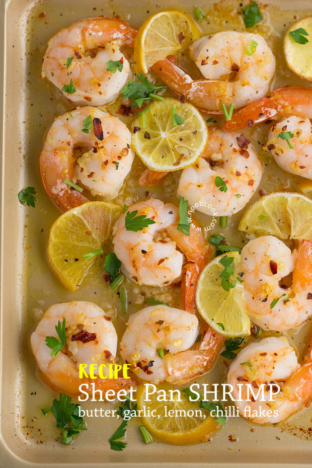 Sheet Pan Shrimp Recipe