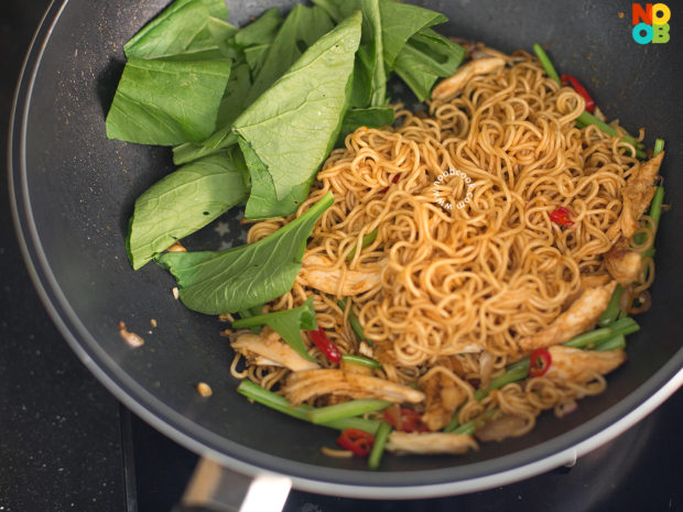 Stirfry Instant Noodles Recipe - Step 4