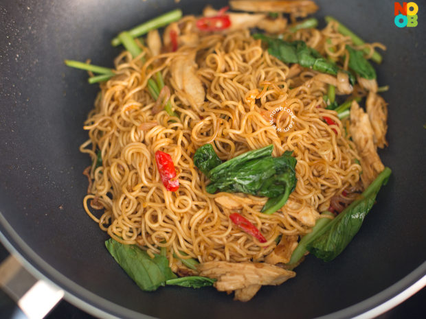 Stirfry Instant Noodles Recipe - Step 5