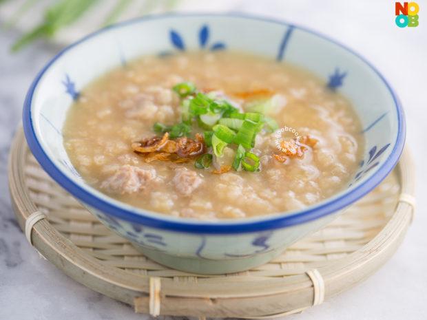 5-ingredient Pork Porridge Recipe