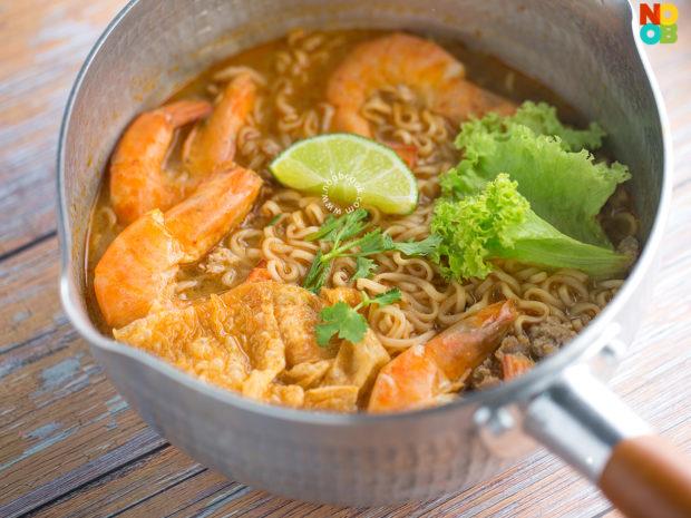 Mama Tom Yum Noodles Recipe