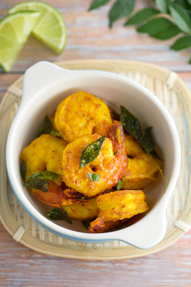 Roasted Curried Shrimp Recipe