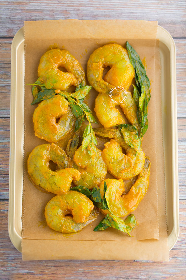 Sheet Pan Roasted Curried Shrimp Recipe