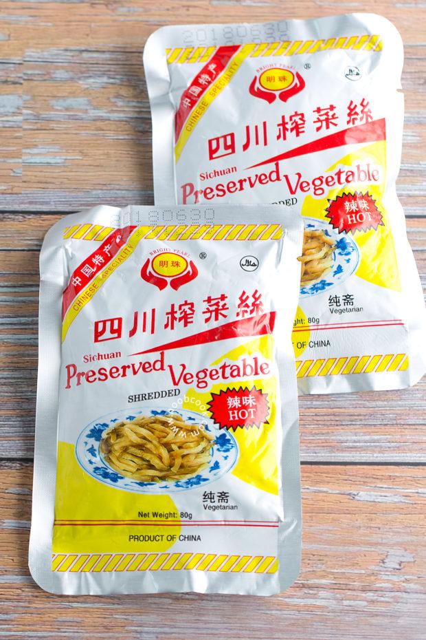 Shredded Sichuan Vegetable