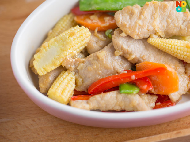 Stir-fry Pork with Vegetables Recipe