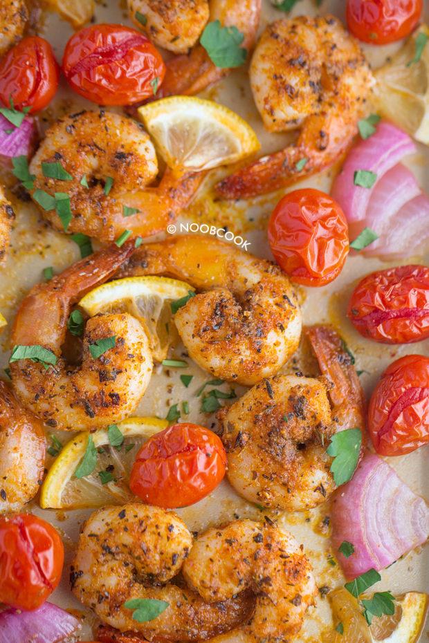 Roasted Cajun Shrimp Salad Recipe