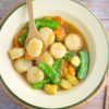 Stir-fry Vegetables with Scallops Recipe