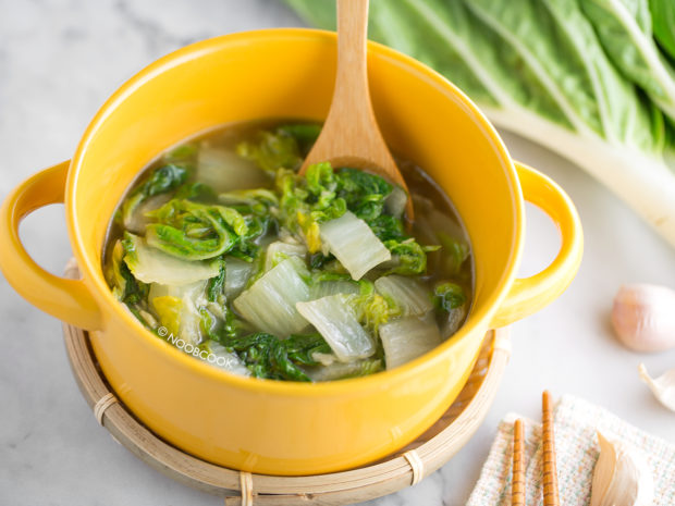 Simmered Chinese Endives Recipe